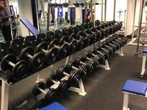 Hantelställ komplett med hantlar CL Fitness