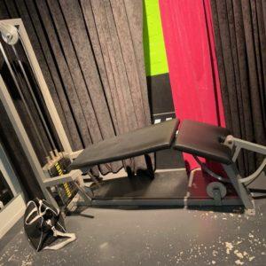 Icarian Precor by GymPartner Legcurl liggande