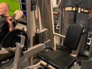 Icarian Precor-GymPartner Leg extension-Benspark