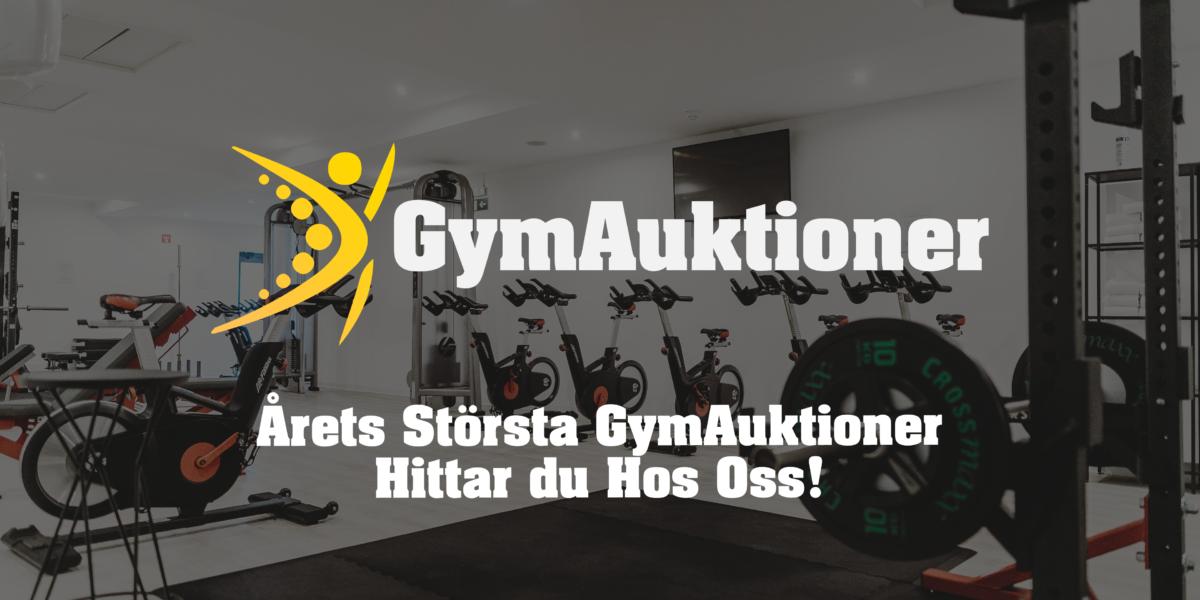 Gymutrustning hos GymAuktioner Sverige