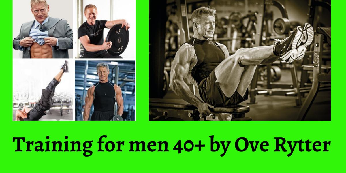 Training for men 40+ Ove Rytter